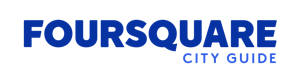 Foursquare City Guide Wordmark Logo