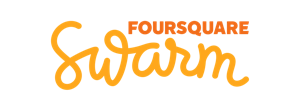 Foursquare Swarm Wordmark Logo