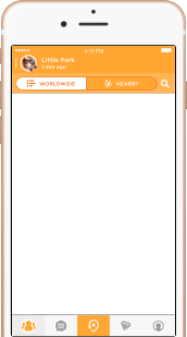 Swarm screenshot for iPhone